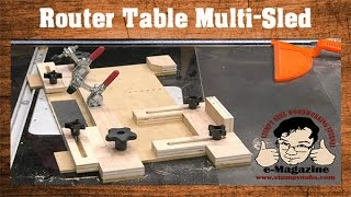 Download Build A Router Table Multi-Sled (Coping, Small Parts Holder, Tenons, Circles, Etc.) Video