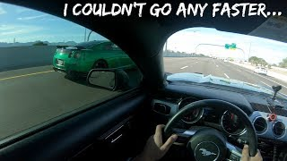 Download Wrapped GTR absolutely destroys 5.0 & something finally broke... Video
