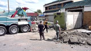 Download The Big Pull - Bank Vault Demolition Video