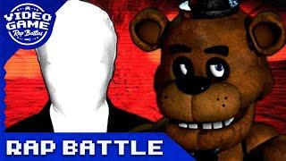 Download Freddy Fazbear vs. Slenderman - Video Game Rap Battle Video