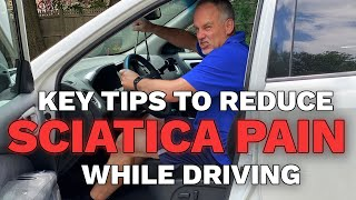 Download Key tips to reduce low back pain, sciatica, leg pain and neck pain while driving Video