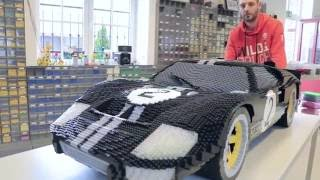 Download LEGO Ford GT at Le Mans 24 hours Video