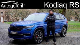 Download Skoda Kodiaq RS FULL REVIEW vRS - Autogefühl Video