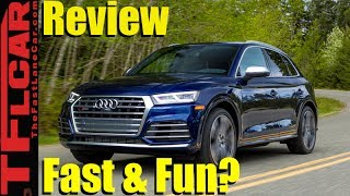 Download 2018 Audi SQ5 0-60 MPH Review: Fast, Fun and Off-Road Worthy? Video