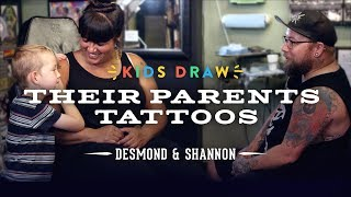 Download Desmond Designs a Tattoo for His Mom | Kids Draw | Cut Video