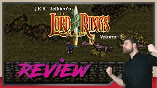 Download Lord of the Rings: Volume I - REVIEW (SUPER NINTENDO) Video