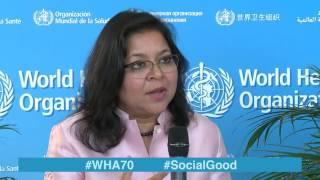Download WHO: World Health +Social Good live at WHA70 - 26 MAY 2017 Video