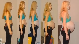 Download Pregnancy Time Lapse of Baby Klaire! Video