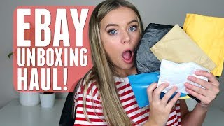 Download EBAY UNBOXING HAUL!! (AKA buying random things that I definitely didn't need) Video