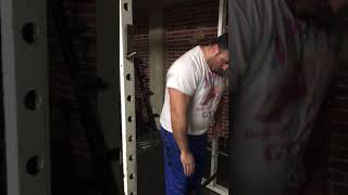 Download working out with lots of big weights Video