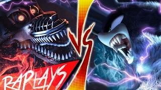 Download SONIC WEREHOG VS NIGHTMARE FOXY | EVIL RAP BATTLE | KRONNO & CYCLO | ( Videoclip Oficial ) Video
