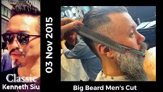 Download Kenneth Siu - Big Beard Hairstyle Video