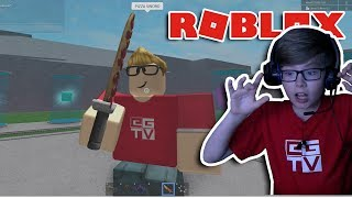 Download I HAVE A PIZZA SWORD! Roblox | Lucky Block Battlegrounds Video