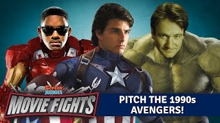 Download Pitch The 1990s Avengers! - WEIRD MOVIE FIGHTS!! Video