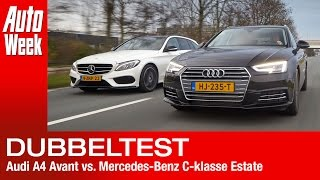 Download Dubbeltest - Audi A4 Avant vs Mercedes C-Klasse Estate Video