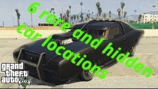 Download 6 Rare And Hidden Cars In Gta 5 Story Mode Video