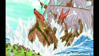 Download One piece - Zoro gets lost and destroys a ship HD Video