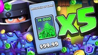 Download GEMMING ″Mega Knight″ 70,000 GEMS!! • MAX Mega Knight in Clash Royale !? Video