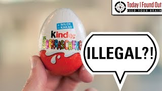 Download Why are Kinder Eggs Illegal in the USA? Video
