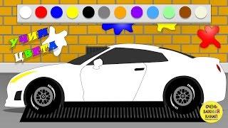 Download Машинки, автовоз – изучение цвета для малышей! Развивающий мультик про машинки Video