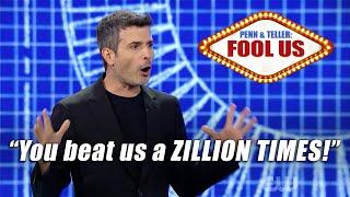 Download Magician REVEALS trick and still fools Penn & Teller!!! - Asi Wind on Penn & Teller: Fool Us Video