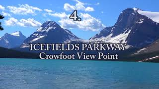 Download TOP 10 Tourist Attractions in CANADIAN ROCKIES.Full HD Video