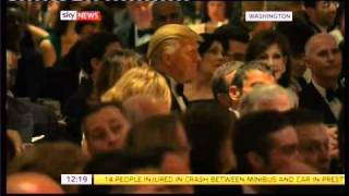 Download President Obama makes fun of Donald Trump at the Correspondents Dinner Video