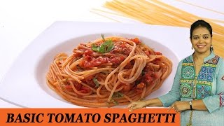 Download Basic Tomato Spaghetti - Mrs Vahchef Video