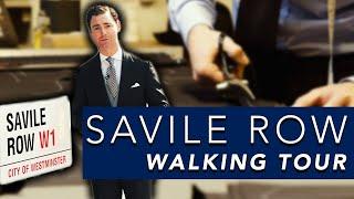 Download London Savile Row Walking Tour | Huntsman v Henry Poole v Anderson & Sheppard House Style Comparison Video