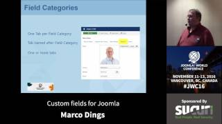 Download JWC 2016 - Custom fields for Joomla - Marco Dings Video