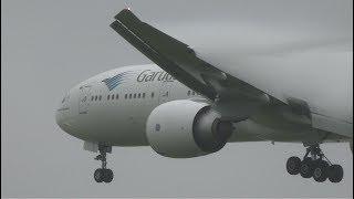 Download Garuda Indonesia Boeing 777-300ER PK-GIF Landing and Takeoff [NRT/RJAA] Video