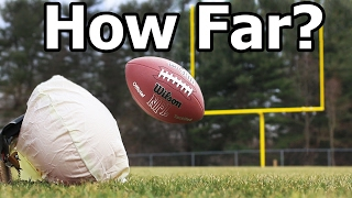 Download An Airbag Can Launch a Football How FAR?! Video