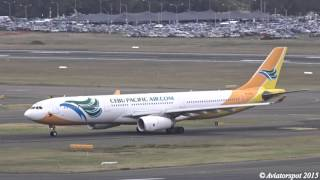 Download (Loud Spooling) Cebu Pacific Air A330-300 landing 16L / takeoff 16R I Sydney Airport (YSSY/SYD) Video