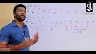 Download Learn Korean in Sinhala - Lesson 01 - කොරියානු හෝඩිය Video