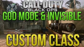 Download Black Ops 1: God & Invisible Custom Class + Explained Video