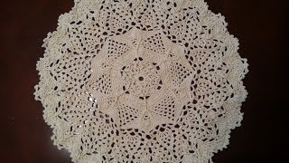 Download Crochet Doily - Twisted Veins Doily Part 1 Video