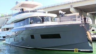 Download 2019 Sirena 58 Luxury Yacht - Interior Deck Bridge Walkthrough - 2019 Miami Yacht Show Video