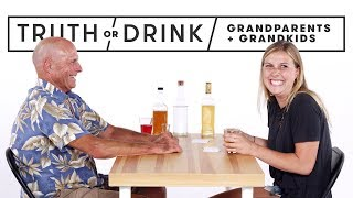 Download Grandparents & Grandkids Play Truth or Drink | Truth or Drink | Cut Video