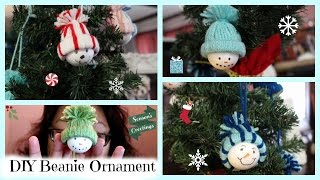 Download How to DIY Beanie Snowman Ornament! Video