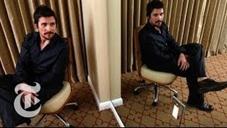 Download Oscars 2014 | Christian Bale Interview: Being Fat, Bald and Inspired in 'American Hustle' Video