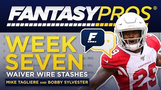 Download Live: Week 7 Waiver Wire Stashes (2019 Fantasy Football) Video