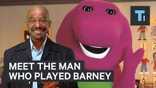 Download This man played Barney the dinosaur for 10 years — here's what it was like Video