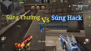 Download CF Mobile/CF Legends | Dual TMP Royal Dragon vs DUAL TMP VIP - Khác Nhau NTN ? Video