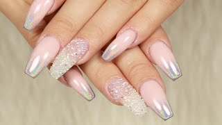 Download Uñas Acrílicas 2018/Uñas Ombre Holografico/Como aplicar pixie Video