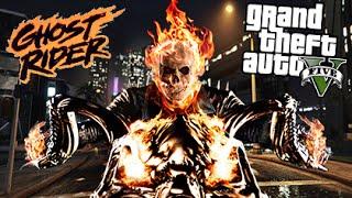 Download GTA 5 Mods - GHOST RIDER MOD! | GTA 5 Mods Gameplay Video