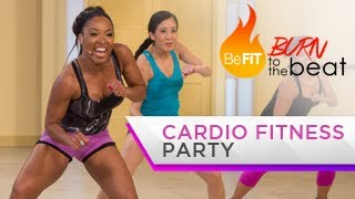 Download Cardio Fitness Party Workout: Burn to the Beat- Keaira LaShae Video