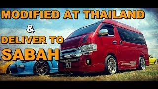 Download VAN HIACE SABAH Thailand Modified - HABIS 200K MODIFIED LUAR DALAM Video