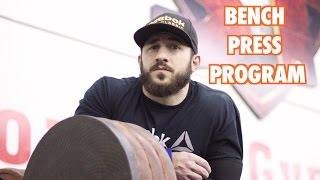 Download How I Bench Pressed 405lbs - Increase Your Raw Bench Press! Video