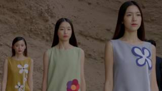 Download Pierre Cardin Spring Summer Collection 2017 The Yellow River Stone Forest China Video
