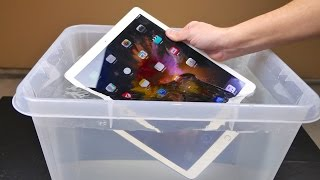 Download iPad Pro Water Test - Waterproof or Water Resistant? Video